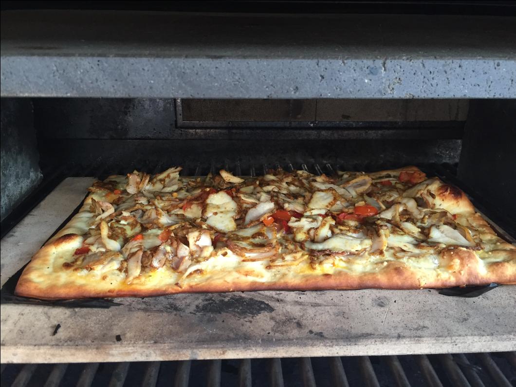 Pizza op de bbq