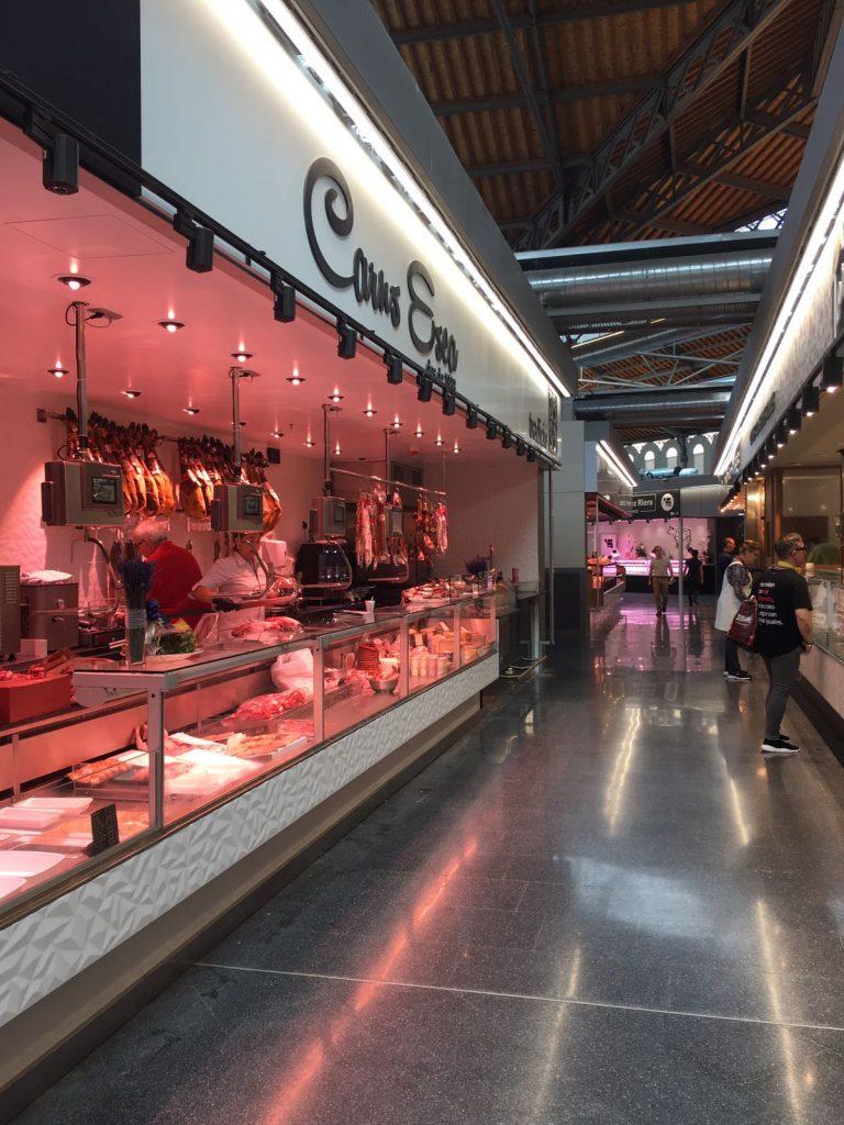 La Boqueria versmarkt in Barcelona 2018