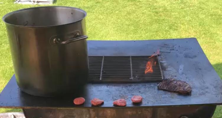Wat is een QFYR barbecue? Grillen op een vuurplaat kan dat?