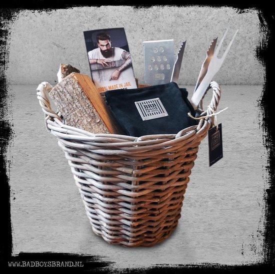 Bad Basket - BadBoysBrand - Kado mand - verjaardag- www.BBQfriends.nl