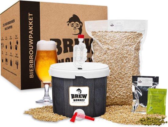 Bierbrouw pakket Blond Basis - zelf bier brouwen - www.BBQfriends.nl