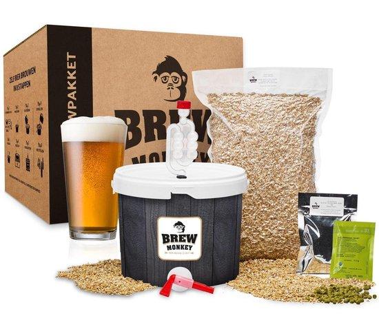 Bierbrouw pakket Ipa Basis - zelf bier brouwen - www.BBQfriends.nl