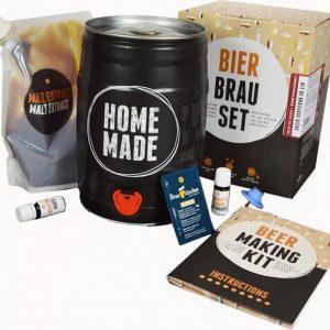 Bierbrouw pakket Lager Bier - zelf thuis bier brouwen - www.BBQfriends.nl