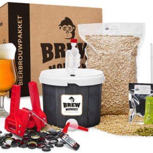 Bierbrouw pakket Tripel Compleet - zelf bier brouwen - www.BBQfriends.nl