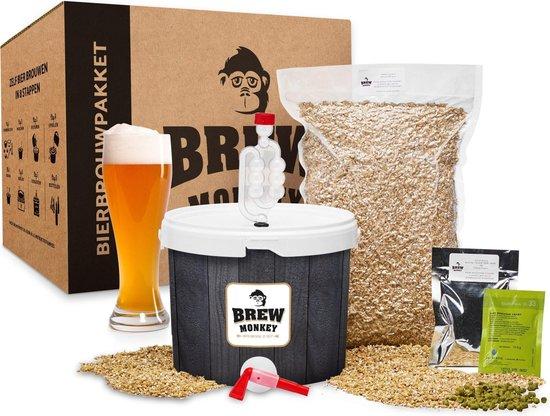 Bierbrouw pakket Weizen Basis - zelf bier brouwen - www.BBQfriends.nl