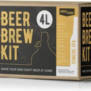 Bierbrouwpakket Ipa kit - zelf je eigen bier brouwen - bier brouw startpakket - www.BBQfriends.nl