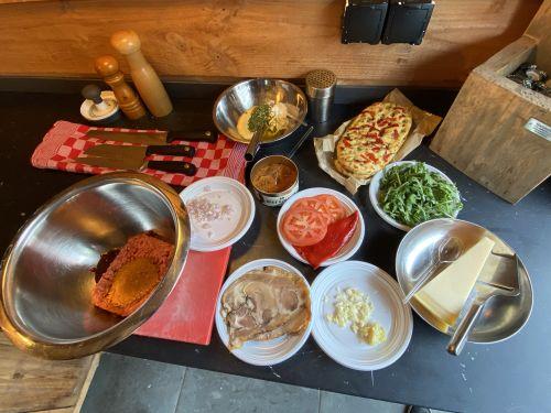Hamburger Italian Style ingredienten- Italiaanse Hamburger Focaccia - BBQ Workshop - Stap voor Stap koken op de Barbecue - www.BBQfriends.nl