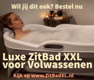 Hellobath ZitBad XXL voor Volwassenen - www.ZitBadXL.nl
