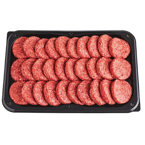 Runderhamburgers schaal 30 stuks - BBQ Vlees Bestellen - Online Vlees Bestellen - BBQFriends.nl