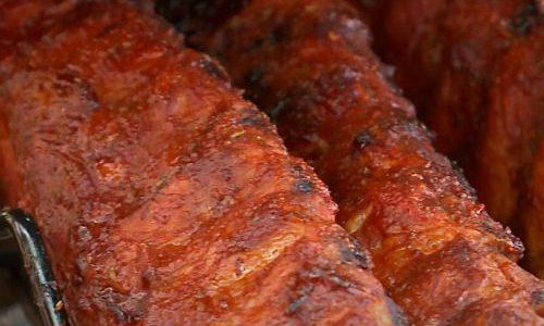 Spareribs met zoete chilisaus marinade - spareribs oven - kant en klaar - low en slow - barbecue - www.BBQfriends.nl